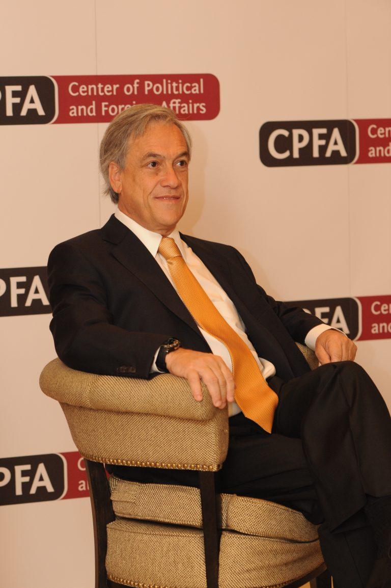 President of Chili, Sebastian Piñera, at CPFA.