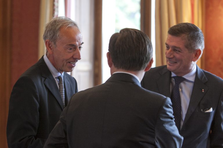Fabien Baussart with G. Benoît Puga, French Chief of Staff of the President.