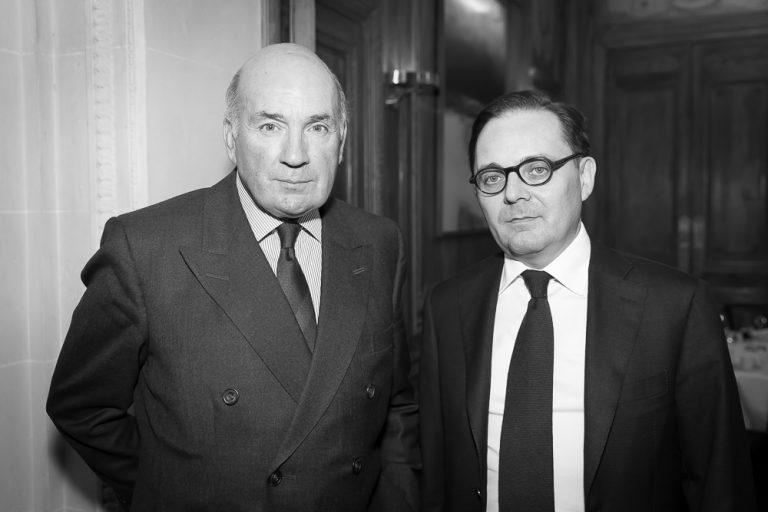 Fabien Baussart with Baron Richard Dannatt, former U.K. Senior Army Officer.