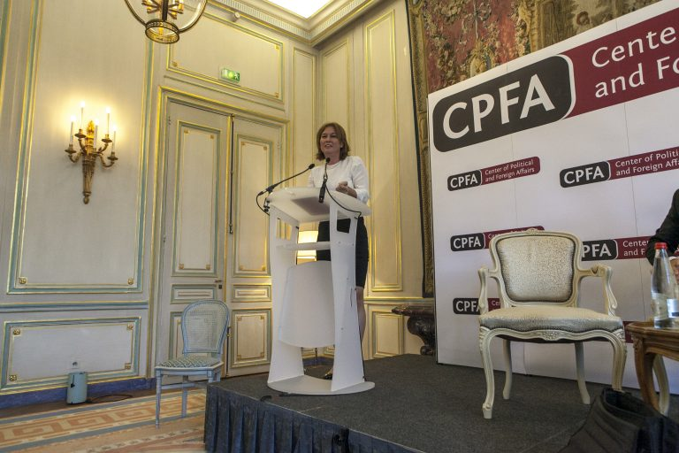 Former Israeli FM Tzipi Livni at CPFA.