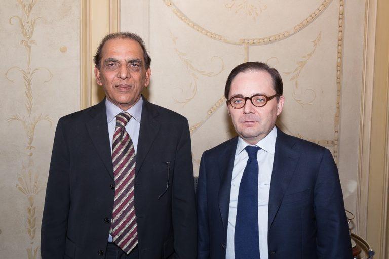 Fabien Baussart with General Ashfaq Kayani, former Pakistani Chief of Army Staff.